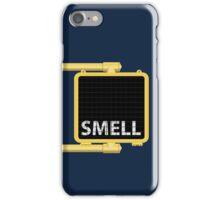 New York Crosswalk Sign Smell iPhone Case/Skin