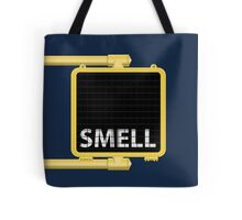 New York Crosswalk Sign Smell Tote Bag
