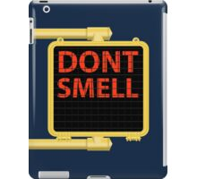 New York Crosswalk Sign Don't Smell iPad Case/Skin