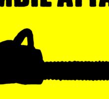 In Case Of Zombie Attack Pull Cord Sticker