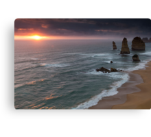 Twelve Apostles, Port Campbell National Park, Victoria, Australia Canvas Print