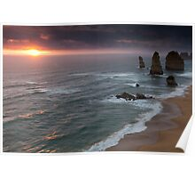 Twelve Apostles, Port Campbell National Park, Victoria, Australia Poster