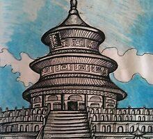 Temple Of Heaven, Beijing    by John Dicandia  ( JinnDoW )