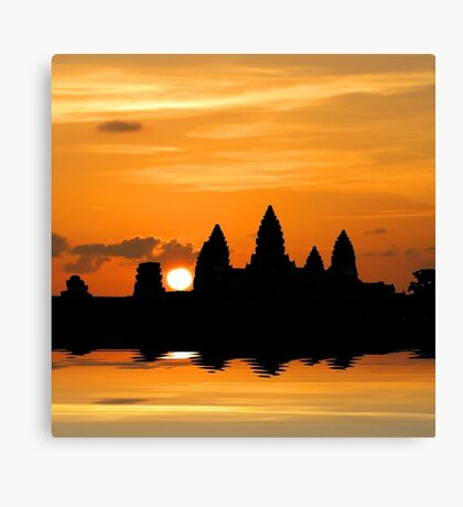 Dreaming of Angkor Watt Canvas Print