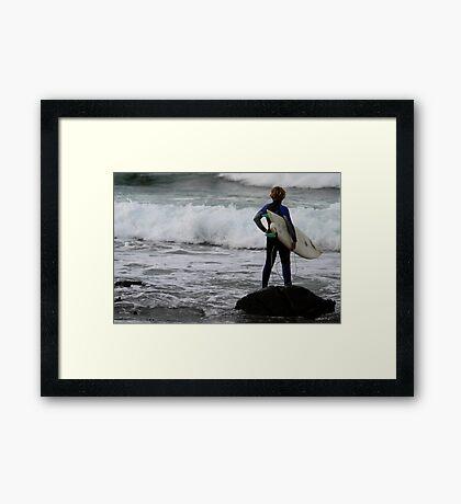 pilgrim Framed Print