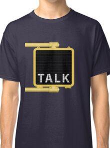 New York Crosswalk Sign Talk Classic T-Shirt