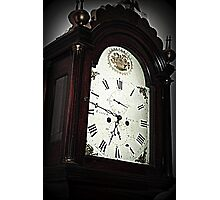 The Face Of Time Photographic Print