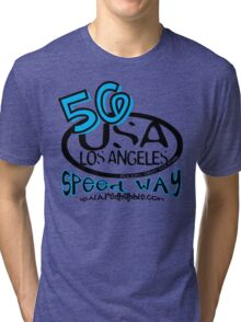 usa la tshirt by rogers bros Tri-blend T-Shirt