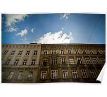 Vienna Buildings Poster