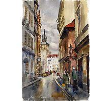 Street of Prague Photographic Print