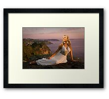 Dawn Sun Kissed... Framed Print