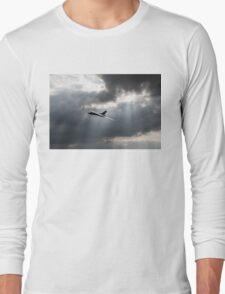 Sunlit Avro Vulcan Long Sleeve T-Shirt
