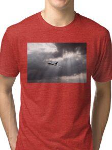 Sunlit Avro Vulcan Tri-blend T-Shirt