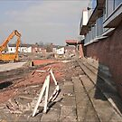 Demolition of Knowsley Road St Helens RLFC by Tony  Glover