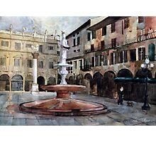 Piazza delle Erbe Photographic Print