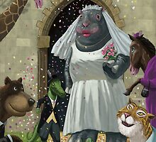 Animal Wedding by martyee
