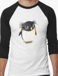 Cute Penguin Men's Baseball ¾ T-Shirt