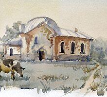 Russian village by Julia Shepeleva