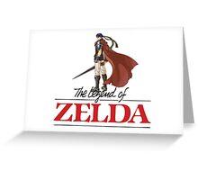 Legend of Zeldo Greeting Card