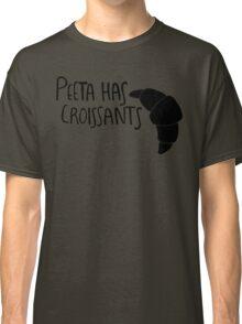 The Baker Has Croissants (Black Design) Classic T-Shirt