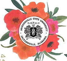 Jacksonville State University Logo by Sara Ellen Thomas