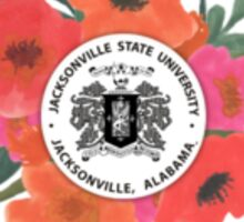 Jacksonville State University Logo Sticker