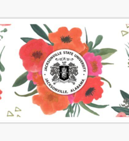 Jacksonville State University Logo Sticker
