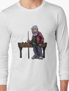 Old Pool player Long Sleeve T-Shirt