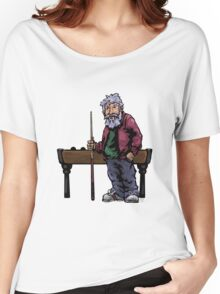 Old Pool player Women's Relaxed Fit T-Shirt