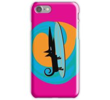 Surf Dog Tube Riding iPhone Case/Skin