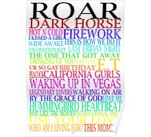 Katy Perry Songs Poster