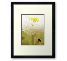 Signed with love... Framed Print