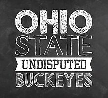 Ohio State Buckeyes by Leah Gunther