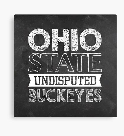 Ohio State Buckeyes Canvas Print