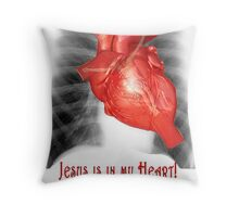 Cardiology for Atheists and other Fundamentalists Throw Pillow