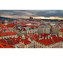 Prague roofs  Photographic Print