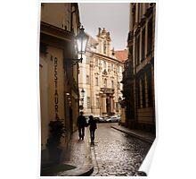 Romantic Prague Poster