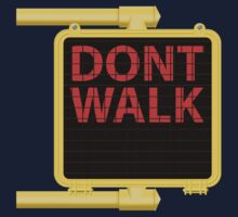 "New York Crosswalk Sign Don""t Walk by ImagineThatNYC"