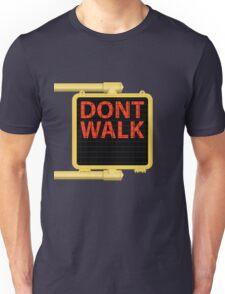 "New York Crosswalk Sign Don""t Walk Unisex T-Shirt"