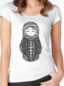 Russian Nesting Doll Women's Fitted Scoop T-Shirt