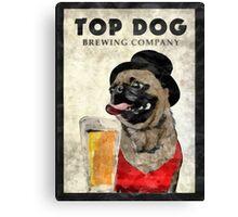 Top Dog Brewing Company Canvas Print