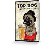 Top Dog Brewing Company Greeting Card