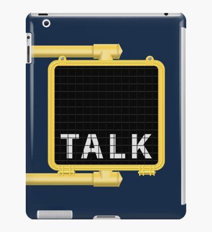 New York Crosswalk Sign Talk iPad Case/Skin