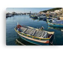 Mgarr Harbour Canvas Print