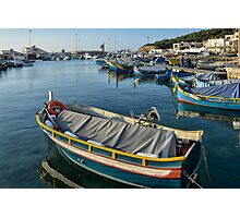 Mgarr Harbour Photographic Print