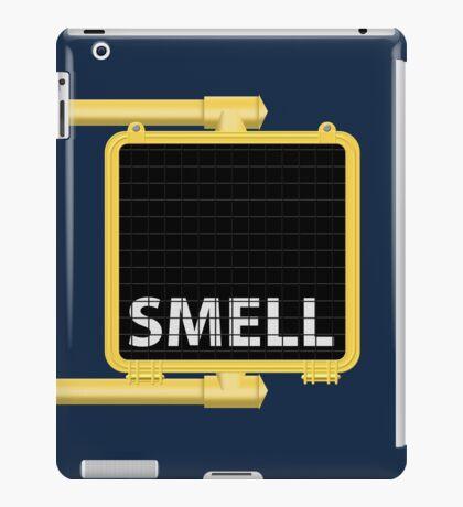New York Crosswalk Sign Smell iPad Case/Skin