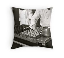 Pastry Chefs Throw Pillow