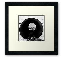 On the Beach #20 Framed Print