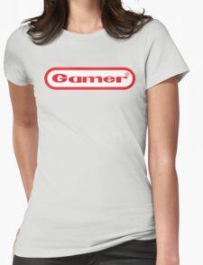 Gamer Shirt Design Womens Fitted T-Shirt