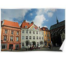 MVP21 Stralsund, Alter Markt, Germany. Poster